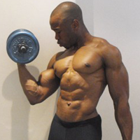 Image result for Black Man Working Out In the Gym
